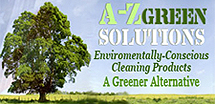 A-Z Green Solutions: Environmentally-Conscious Cleaning Products - A Greener Alternative